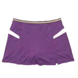 Wilson Shape athletic skirt. Lilac skort. Size 16